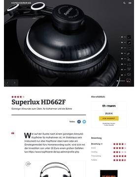 Superlux HD-662 F