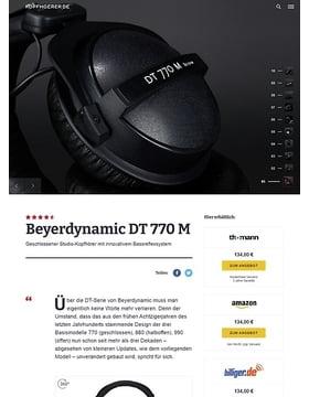 Beyerdynamic DT-770 M