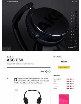 AKG by Harman Y-50 Black