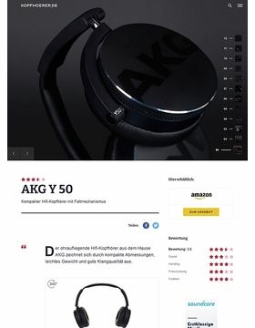 AKG by Harman Y-50 Black