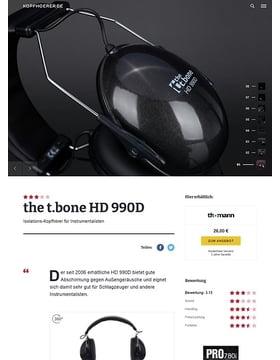 the t.bone HD 990D