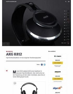 AKG K-812