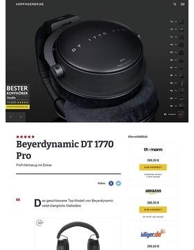 Beyerdynamic DT-1770 Pro 250 Ohm