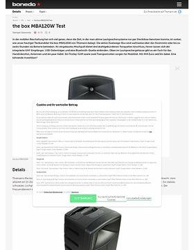 the box MBA120W