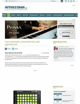 Test: Novation Launchpad Pro, MIDI-Controller