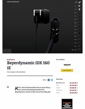 Beyerdynamic iDX 160 iE