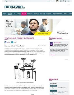 Test: Roland TD25K-V, E-Drumset