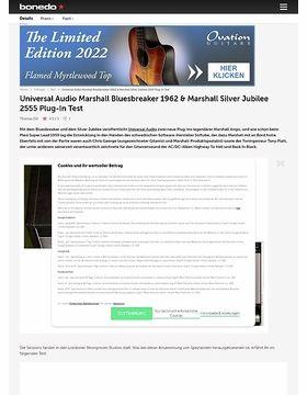 Universal Audio Marshall Bluesbreaker 1962 & Marshall Silver Jubilee 2555 Plug-In