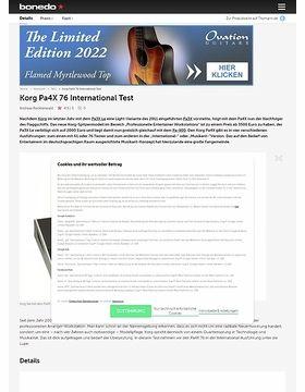 Korg Pa4X 76 International