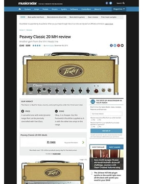 Peavey Classic 20 MH
