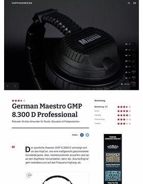 German Maestro GMP 8.3000 D Professional