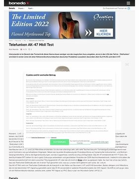 Telefunken AK-47 MkII