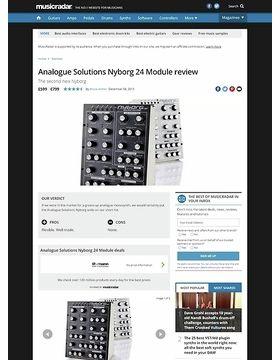 Analogue Solutions Nyborg 24 Module