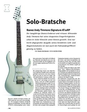 Ibanez Andy Timmons Signature AT10RP