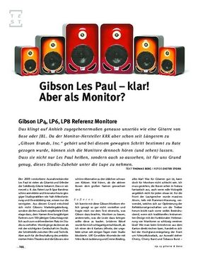 Gibson LP4, LP6, LP8 Referenz Monitore