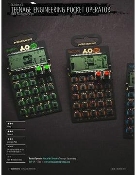 Teenage Engineering Pocket Operator - Mini-Klangerzeuger