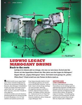 Ludwig Legacy Mahogany Drums