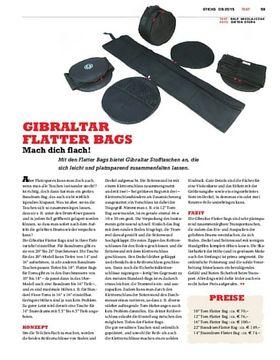 Gibraltar Flatter Bags