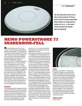 Remo Powerstroke 77 Snaredrum-Fell