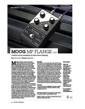 Moog MF Flange