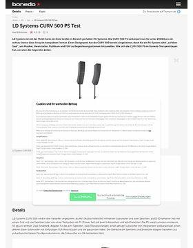 LD Systems CURV 500 PS