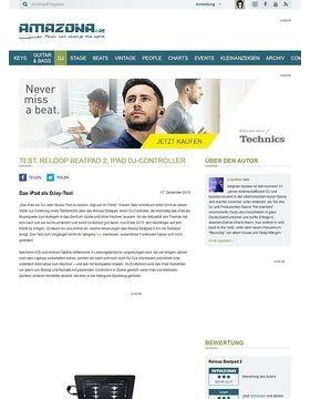 Test: Reloop Beatpad 2, iPad DJ-Controller