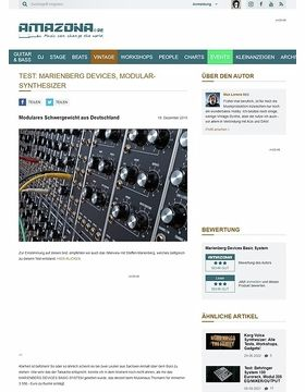 Test: Marienberg Devices, Modular-Synthesizer