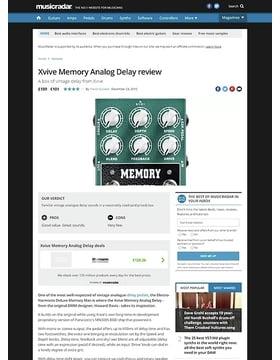 W3 Memory Analog Delay