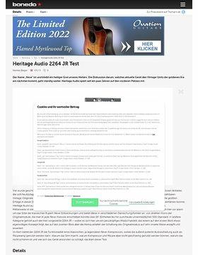 Heritage Audio 2264 JR