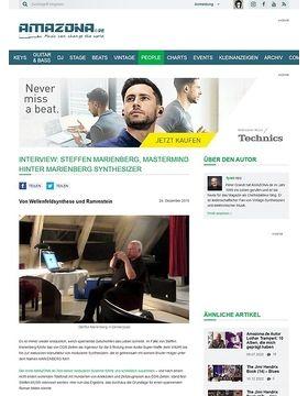 Interview: Steffen Marienberg, Mastermind hinter Marienberg Synthesizer