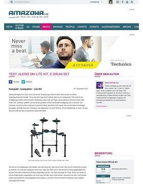 Test: Alesis DM Lite Kit, E-Drum Set