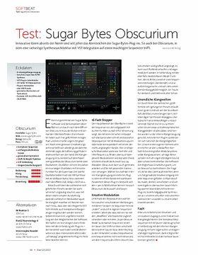 Sugar Bytes Obscurium