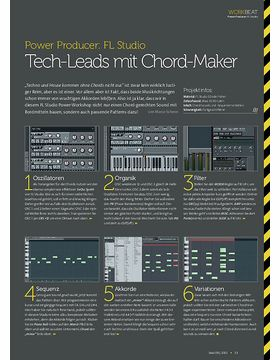 FL Studio - Tech-Leads mit Chord-Maker