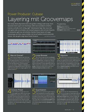 Cubase - Layering mit Groovemaps