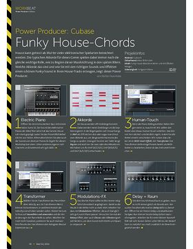 Cubase - Funky House-Chords