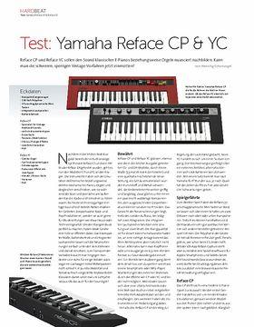 Yamaha Reface CP & YC