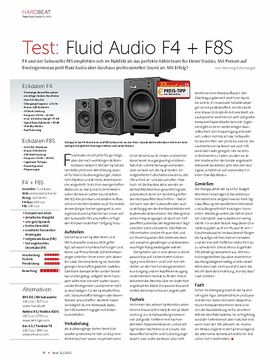 Fluid Audio F4 + F8S