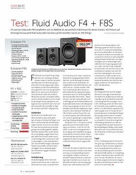Fluid Audio F4 + F8S