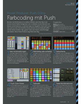 Push-DJing - Farbcoding mit Push