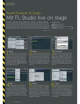 FL Studio - Mit FL Studio live on stage