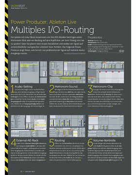 Ableton Live - Multiples I/O-Routing