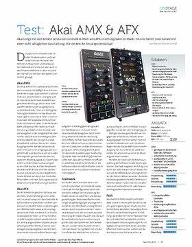 Akai AMX & AFX
