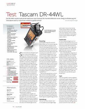 Tascam DR-44WL