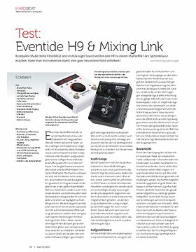 Eventide H9 & Mixing Link