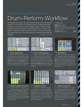 Ableton Push - Drum-Perform-Workflow