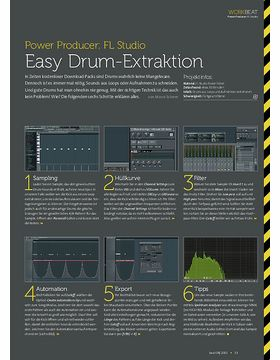 FL Studio - Easy Drum-Extraktion