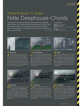 FL Studio - Fette Deephouse-Chords