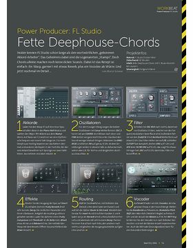 FL Studio - Fette Deephouse-Chords