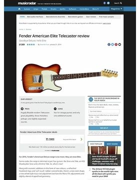 Fender American Elite Telecaster