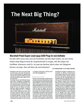 Marshall Plexi Super Lead 1959 UAD-Plug-In von Softube